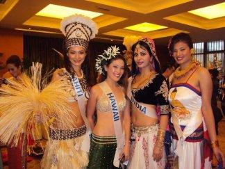 Sarina Maskey in National Costume at Miss International 2011