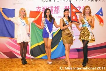 Sarina Maskey - Miss International 2011