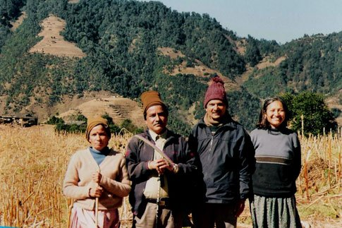 Sita Prachanda Baburam and Hisila Maoists Leaders