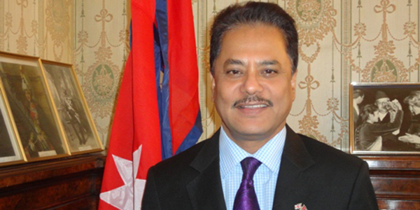 Suresh Chandra Chalise Nepali Ambassador to the UK