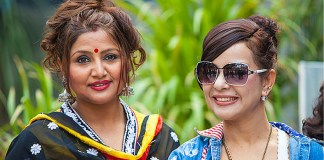 Deepa Shree Niraula and Pujana Stri Nepali Movies