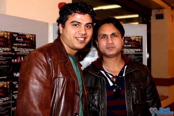 Actor Dhruba Datta at Dhanda Screening in Hounslow