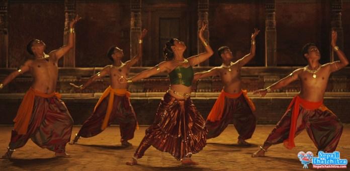 Diya Maskey dancing in Soongava Nepali Movie copy