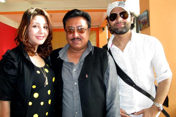 Karishma Manandhar and Raj Ballav Koirala at Nepali Film Festival 2012