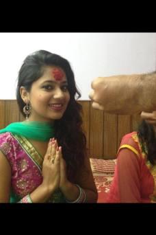 Keki Adhikari Namaste Dashain Tika 2013