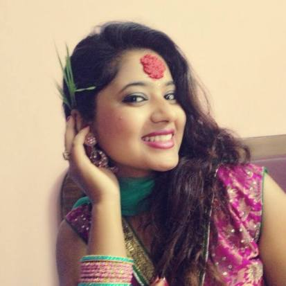 Keki Adhikari with happy Dashain Tika 2013