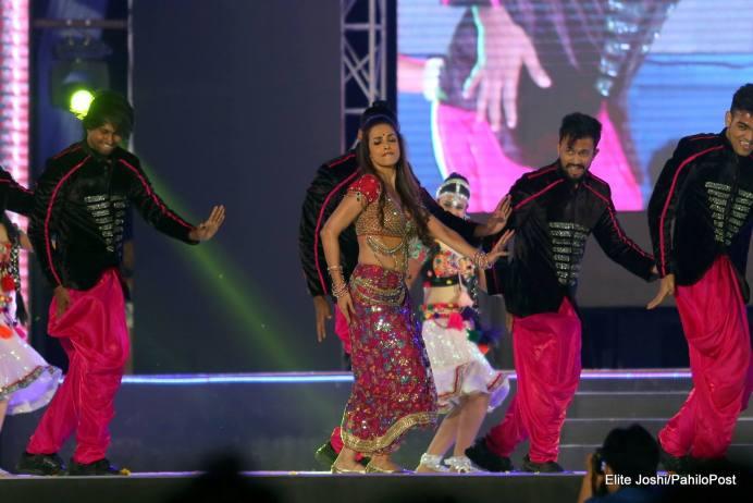 Maliaka Arora Performs in Kathmandu Nepal at AmarPanchhi Concert