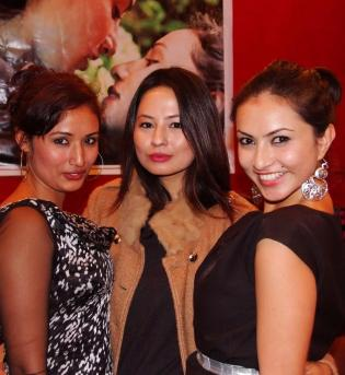 Malvika Subba, Nisha Adhikari and Diya Maskey Soonga Movie Premiere