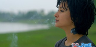 Namrata Shrestha Smoking in Chhadke