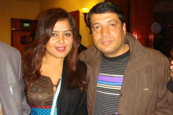 Rekha Thapa and Chabbi Ojha together at Family Party