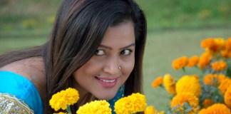Rekha Thapa in Lanka Nepali Movie Song 1