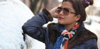 Rekha Thapa on Streets of NYC US