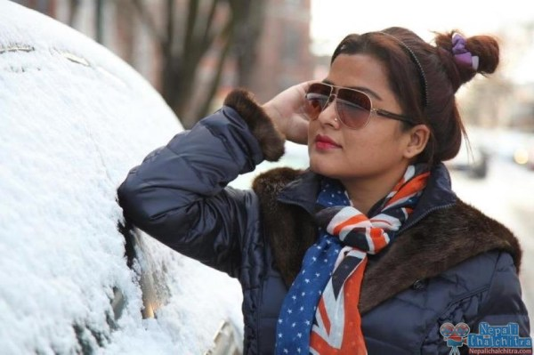 Rekha Thapa on Streets of NYC US