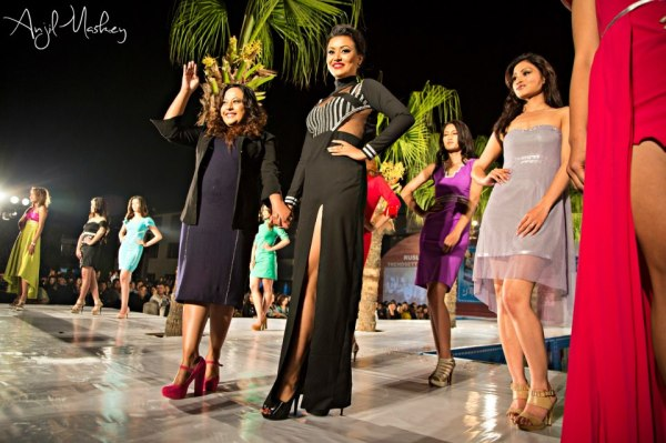 Subexya Bhadel at Trendsetters 2 Fashion Show