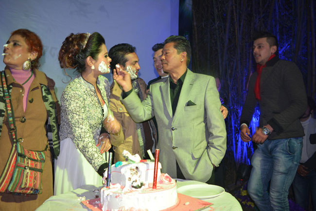 Sushma Karki Birthday with Pramod Movie 2015