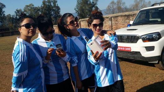 Sushma Karki Dipasha BC Football Match Surkhet 6
