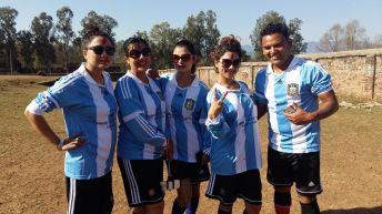 Sushma Karki Football Match Surkhet 5