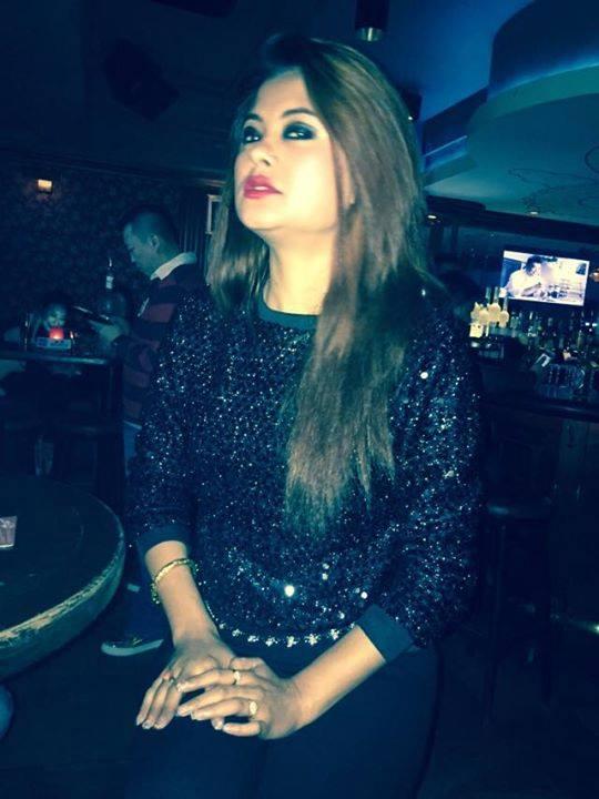 Sushma Karki in Hong Kong Bar