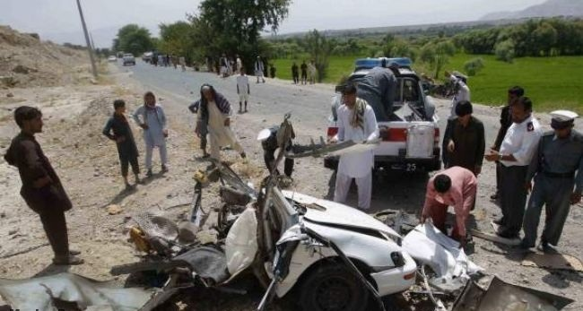 Roadside bombing in Afghanistan kills 2 soldiers