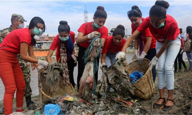 32 metric tonnes of solid waste collected from major rivers in Valley
