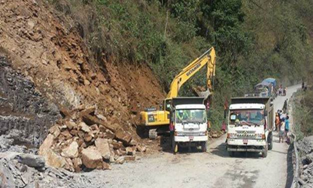 Muglin road section again remains closed for six hours from today