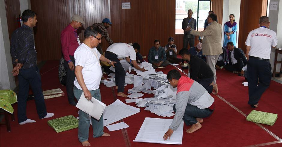 काठमाडौं महानगरको मत परिणाम: एमाले फराकिलो मतसहित अग्रस्थानमा