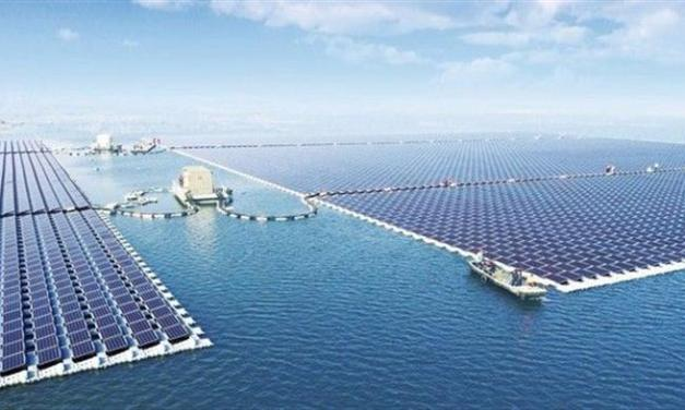 China just built the world's biggest floating solar project