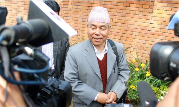 Gurung says it is necessary to address demands Madhesi-indigenous nationalities