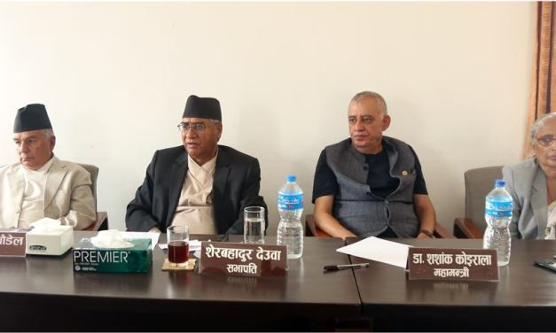 NC's central working committee meeting continues