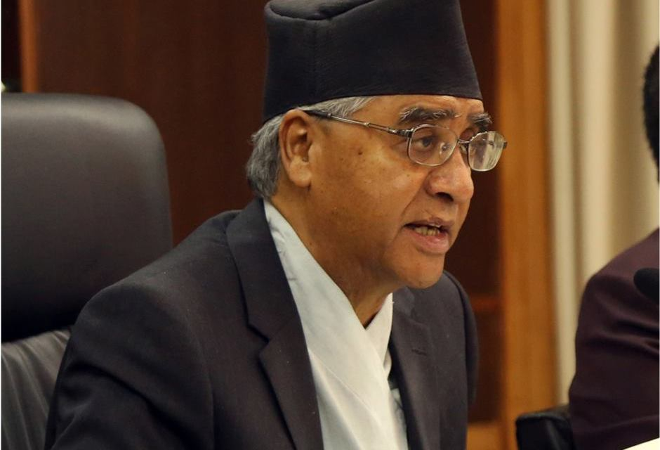 Election code is not creating problems for government: PM Deuba