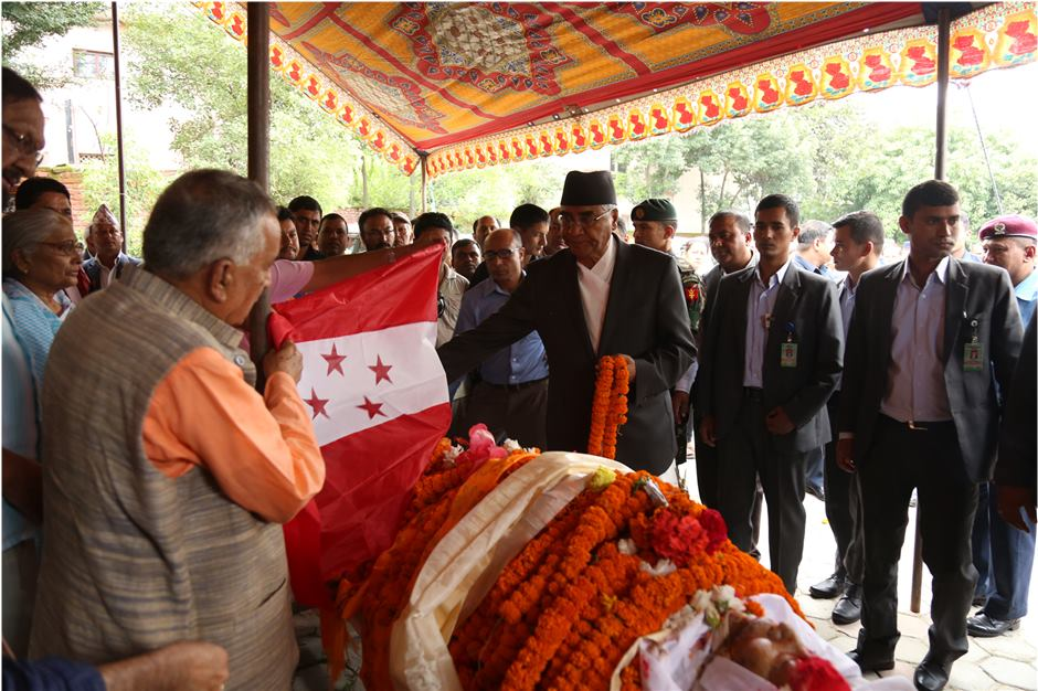 NC leaders including President pay tribute to Joshi