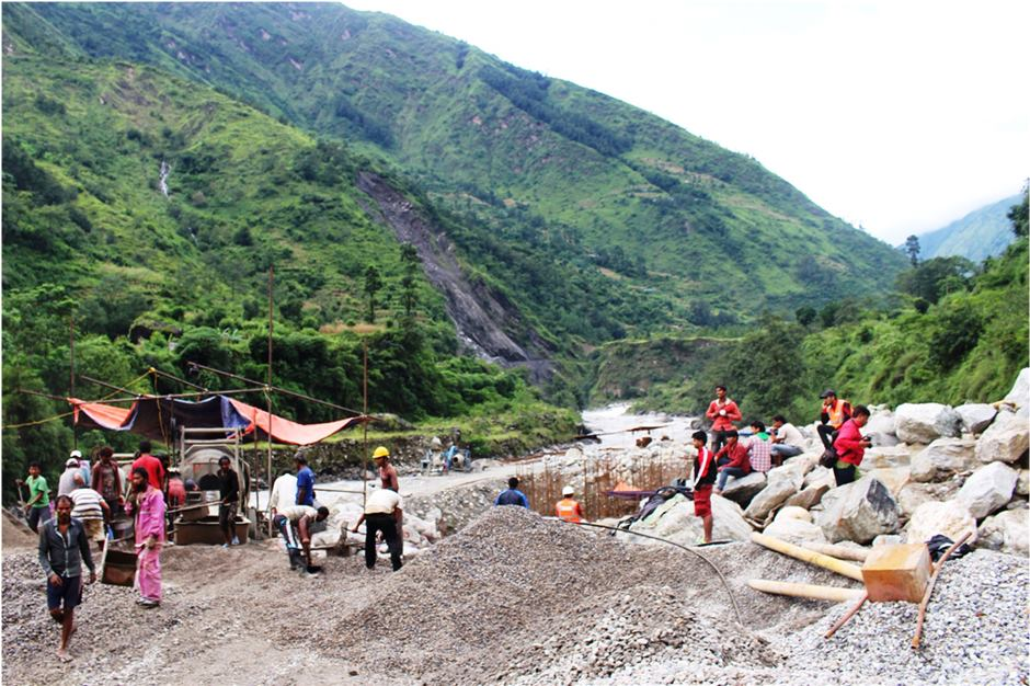 Mistri Khola Hydro Power Project ramps up construction work