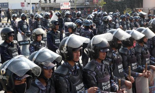 Armed Police mobilization for strong polls security situation