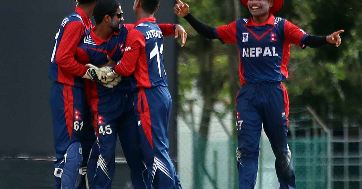 Historical win for Nepal in U19 Cricket