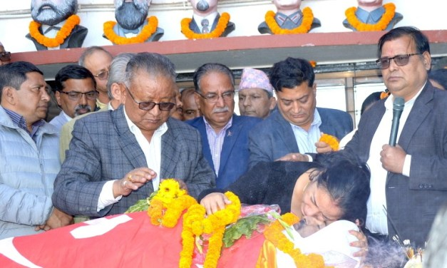 'Prakash Dahal died of sudden cardiac arrest'