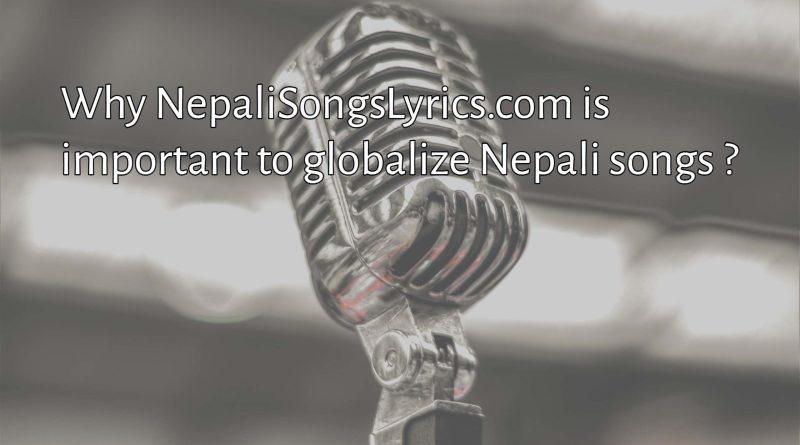 Nepali songs Lyrics - nepal first dedicated song lyrics provider