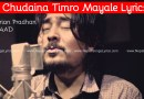 Chhudaina lyrics 1974AD