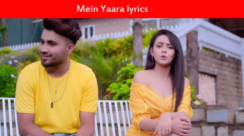 Mein Yaara lyrics - Shavi - New punjabi songs