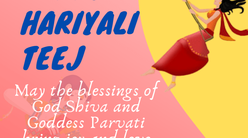 happy hariyali teej 2020 - haritalika teej wishes