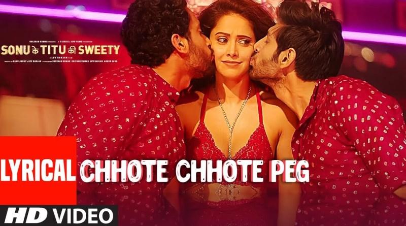 Chhote Chhote Peg lyrics - Yo Yo Honey Singh