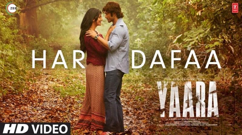 Har Dafaa lyrics - Shaan, Shruti Rane