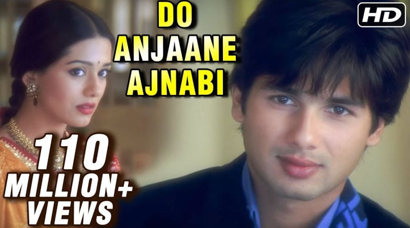 Do Anjaane Ajnabi lyrics - Shreya Ghoshal, Udit Narayan
