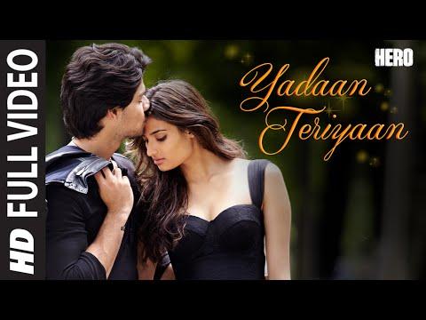 Yadaan Teriyaan Lyrics - Rahat Fateh Ali Khan