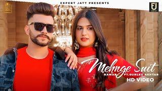 Mehnge Suit Lyrics - Nawab, Gurlez Akhtar
