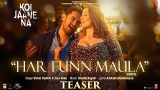 Har Funn Maula Lyrics - Tanishk Bagchi