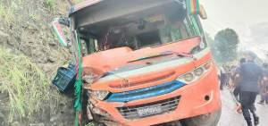 नुवाकोट बस दुर्घटना अपडेट: एकको मृत्यु