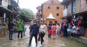 बन्दीपुरमा खचाखच पर्यटक, व्यवसायी उत्साहित