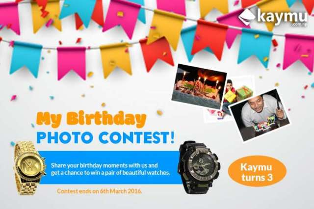 Kaymu Presents 'My Birthday Photo Contest !'