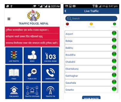 Traffic Police launches app to manage city movements