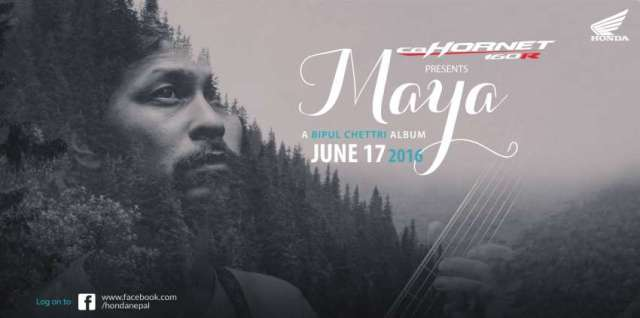 """Bipul Chettri's album """"Maya"""" will be available for free online"""